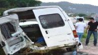 Lastiği Patlayan Aracın Şoförünü Emniyet Kemeri Kurtardı