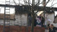 Akkuş'ta Bir Aile Evsiz Kaldı