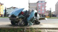 Ordu'nun Altınordu İlçesi'nde feci kaza