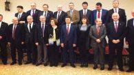 Cumhuriyet Halk Partisi'nde aday adayları toplu poz verdi