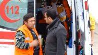 Kabadüz'de müteahhit firma işcisi elektrik direğinden düştü
