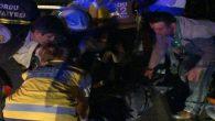 Ordu'da hayvanı ezmek istemeyen otomobil duvara çarptı 1 ölü