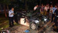 Fatsa'da trafik kazası 1 kişi öldü 3 kişi yaralandı