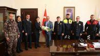 Emniyet Teşkilatından, Vali Yavuz'a Ziyaret