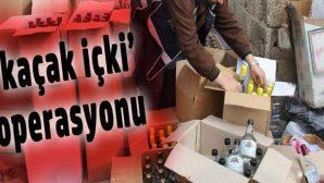 Ordu'da 260 şişe bandrolsüz içki ele geçirildi
