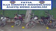 Ordu'da Motor Hırsızları Yakalandı
