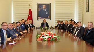ORDEF'in Yeni Yönetiminden, Vali Yavuz'a Ziyaret