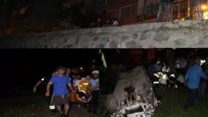 Boztepe Yolu'nda Kaza 8 yaralı