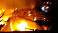 Fatsa'da Sahur Vakti 2 Ev Yandı