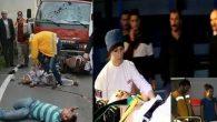Gölköy'de Kaza Motosiklet Kullanan Baba-Oğul Kamyon'un Altında Kaldı