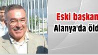 Fatsa Eski Belediye Başkanı Öldü