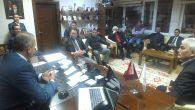 Sefa Yüce'ye belediye ve teşkilatlarda yoğun ilgi