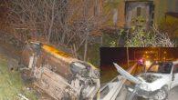 Fatsa'da kamyonet ile otomobil çarpıştı 8 yaralı