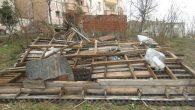 Fırtına Ordu'da çatıları uçurdu