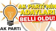 AKP'nin Ordu millevekili adayları kimler oldu?