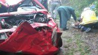 Ordu'da otomobil 300 metre uçurumdan uçtu karı-koca öldü