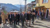 Vali Yavuz, Aybastı'nın Sağlık Mahallesinde Meydana Gelen Heyelanı Yerinde İnceledi