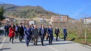 Vali Yavuz, Çatalpınar İlçesinde Ziyaret ve incelemelerde Bulundu